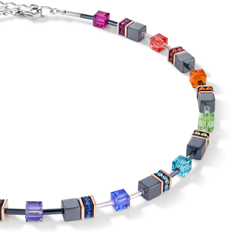 GeoCUBE® Necklace multicolour