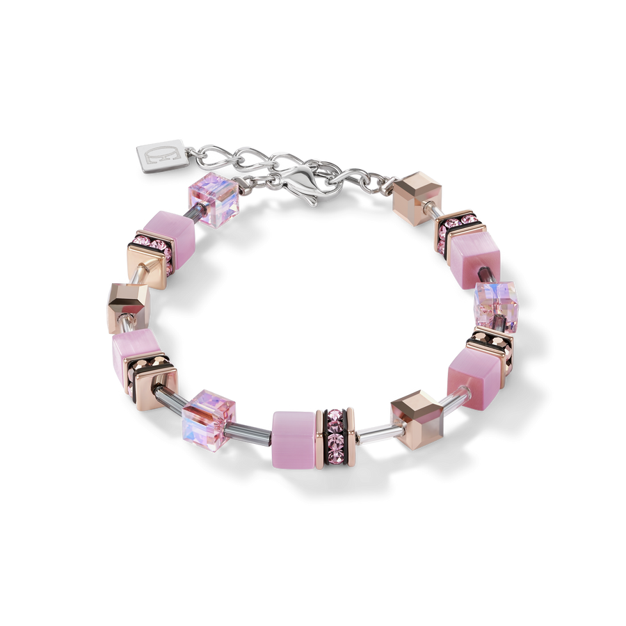 GeoCUBE® Bracelet light rose