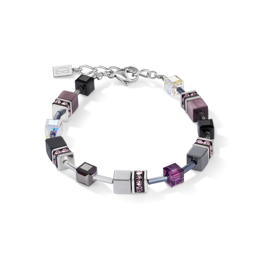 Armband GeoCUBE® medium amethyst