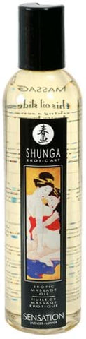 Shunga Massage Oil - Sensation - 250ml