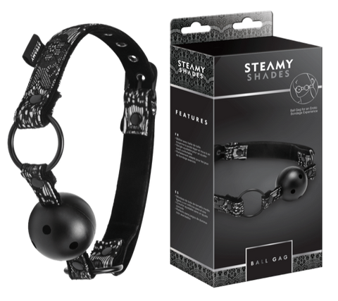 Steamy Shades Breathable Ball Gag