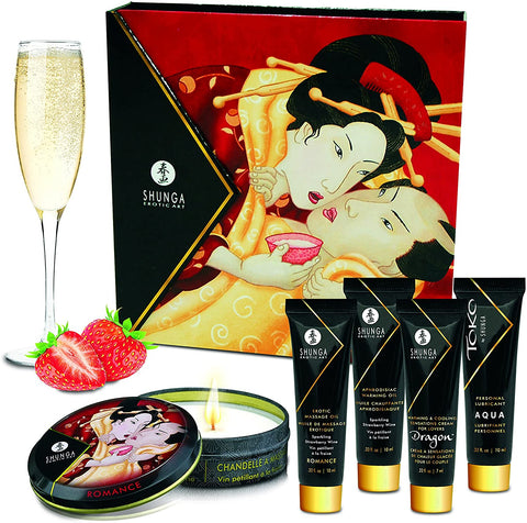 SHUNGA Geisha's Secret Collection Sparkling Strawberry Wine