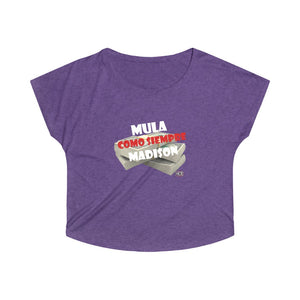 MULA MADISON - COMO SIEMPRE - Organic Women's Lover T-shirt