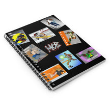 將圖片載入圖庫檢視器 The GREAT8© - Spiral Notebook - Ruled Line