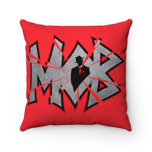 M.O.B. Faux Suede Square Pillow