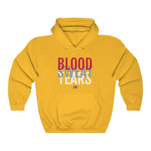Load image into Gallery viewer, BLOOD.SWEAT.TEARS. - ™ Hooded Sweatshirt