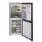 Candy CSC1365BE Static Freestanding Fridge Freezer, 173L Total Capacity, 55cm wide, Black