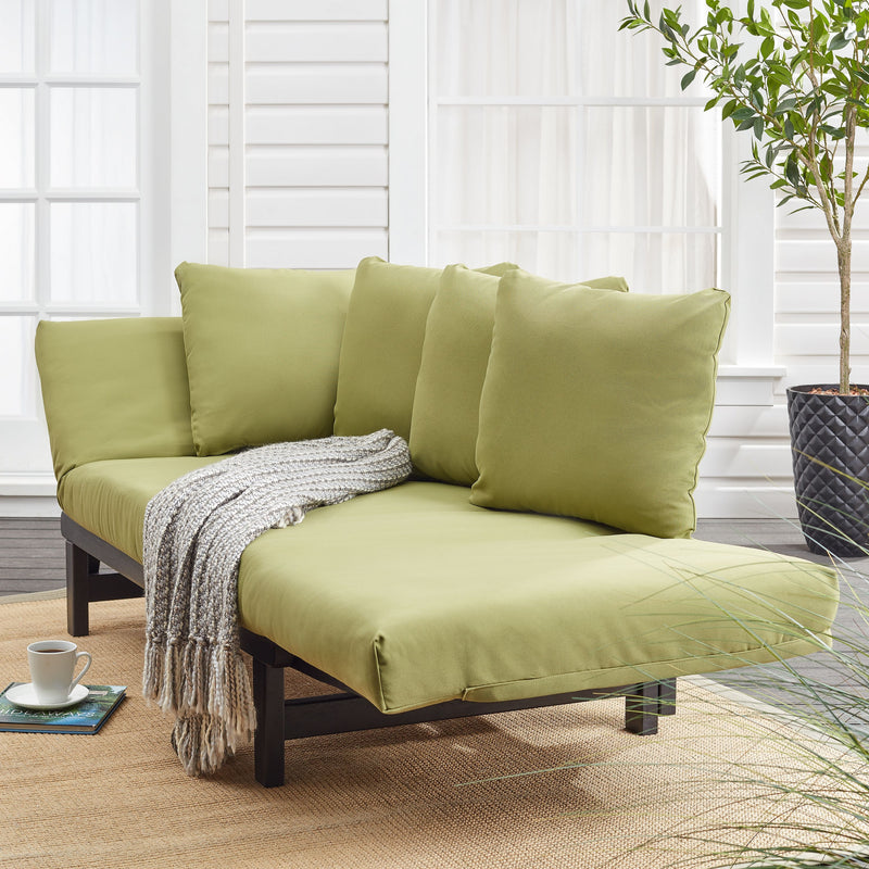 Better Homes & Gardens Delahey Convertible Studio Outdoor Daybed Sofa