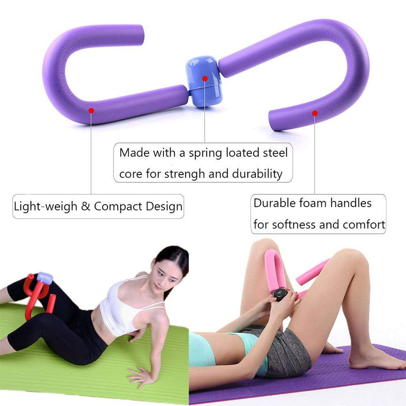 Thigh Master Cushioned Foam- Arm, Leg, Butt Thigh Trimmer Home Gym Fitness Sport Equipment