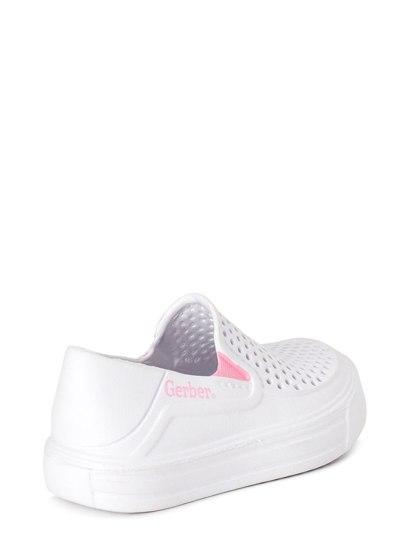 Gerber Baby Pearlized Ventilated EVA Slip-on Water Sneaker (Toddler Girls)