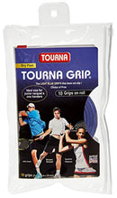 TOURNA Grip Overgrip Tennis Grip (Pack of 10 Grips), Blue