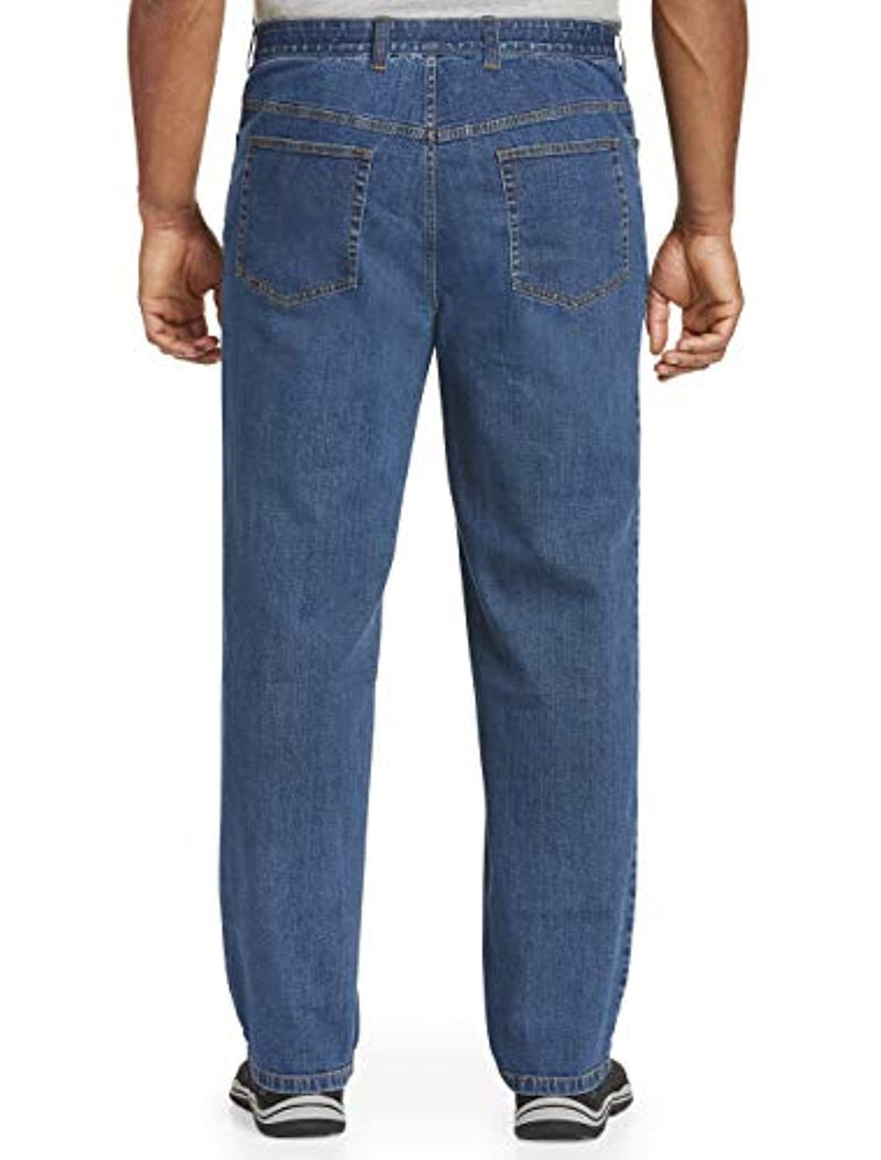 Harbor Bay by DXL Big and Tall Comfort Stretch Jeans