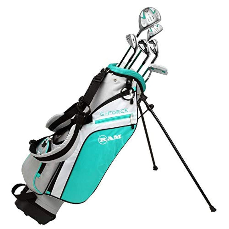Ram Golf Junior G-Force Girls Golf Clubs Set with Bag