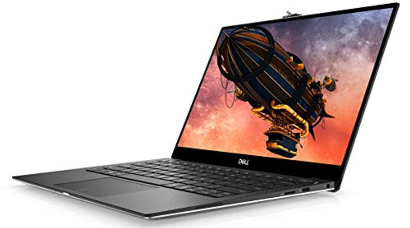 Dell XPS 13 13.3 Inch UHD Thin and Light, InfinityEdge 2019 Laptop (Silver) Intel Core i7-10510U 10th Gen, 16 GB RAM