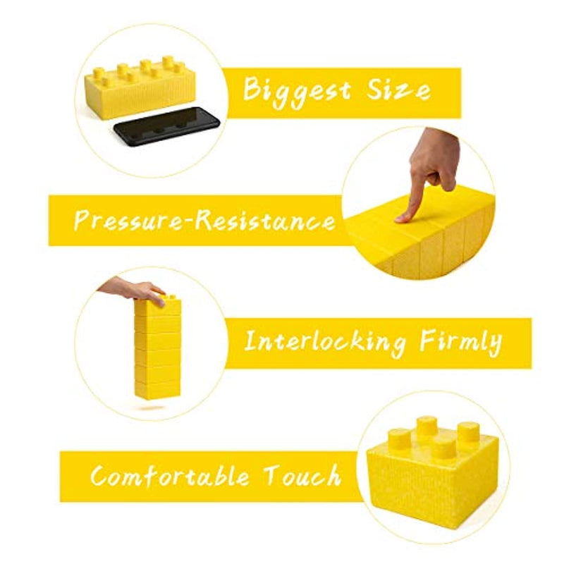 Husiun Jumbo Building Blocks Foam Constructive Bricks