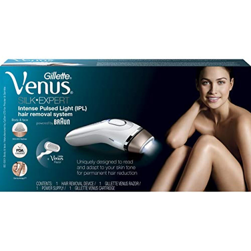 Braun Gillette Venus Silk-Expert IPL 5001 Intense Pulsed Light