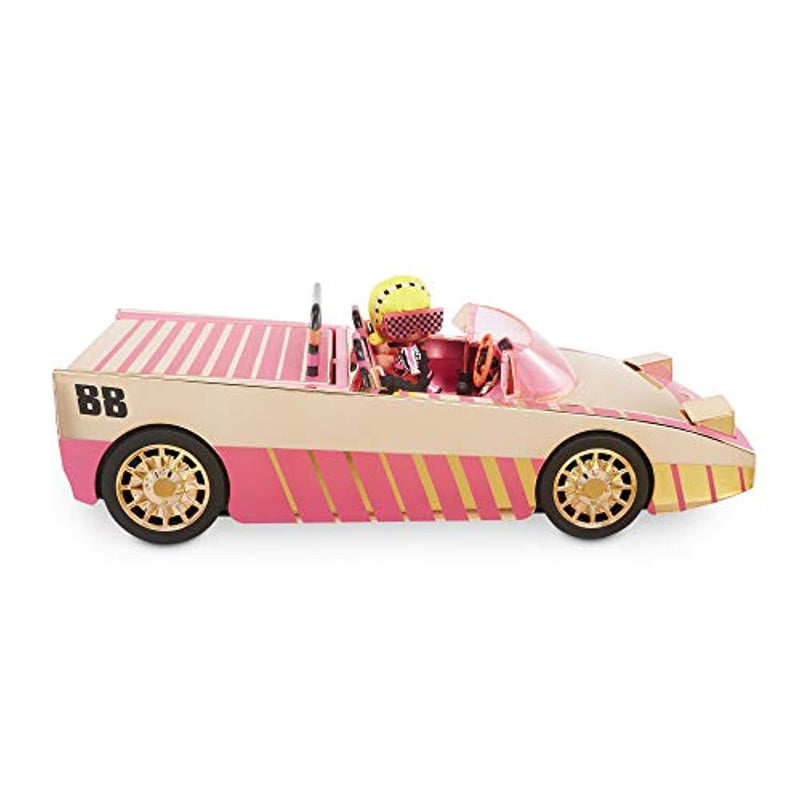 L.O.L. Surprise! Car-Pool Coupe with Exclusive Doll, Surprise Pool, Dance Floor & More