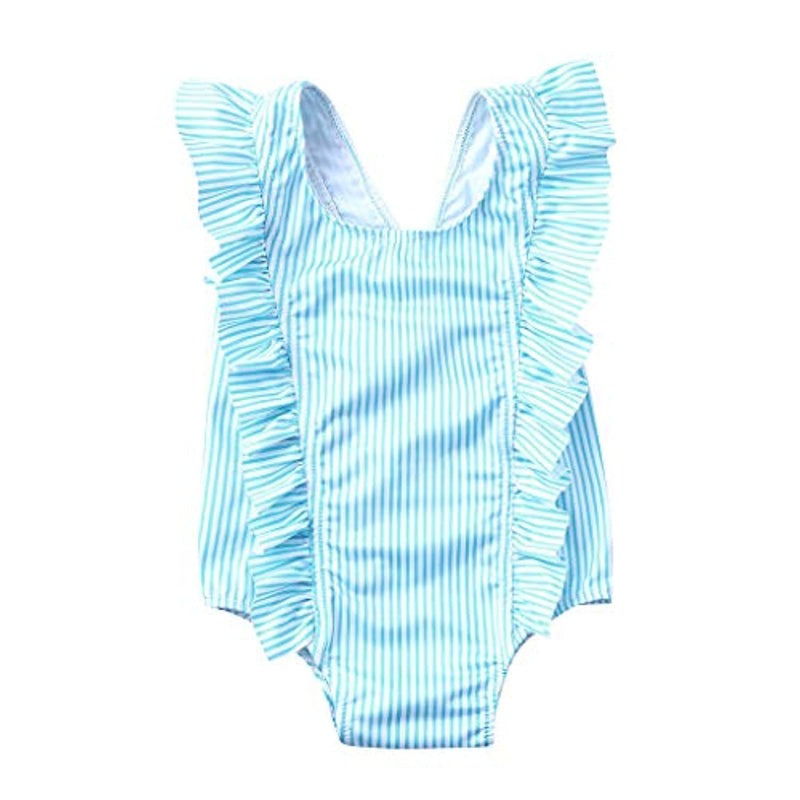 Vovotrade Toddler Girl One-Piece Bikini Beach Swimsuit