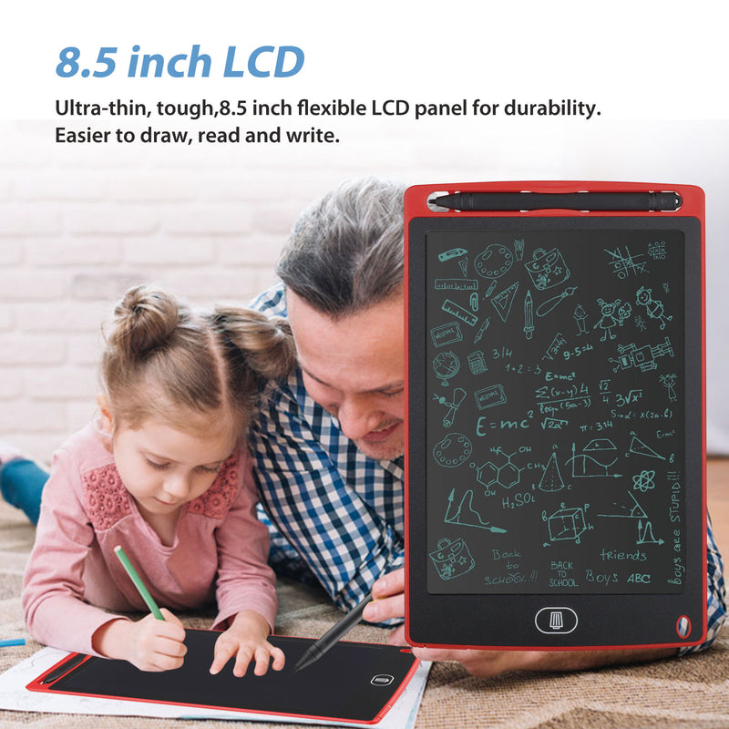 LCD Writing Tablet, EEEkit 8.5 Inch Drawing Tablet Kids Tablets Doodle Board, Drawing Board Christmas Birthday Gifts for Kids and Adults at Home, School and Office