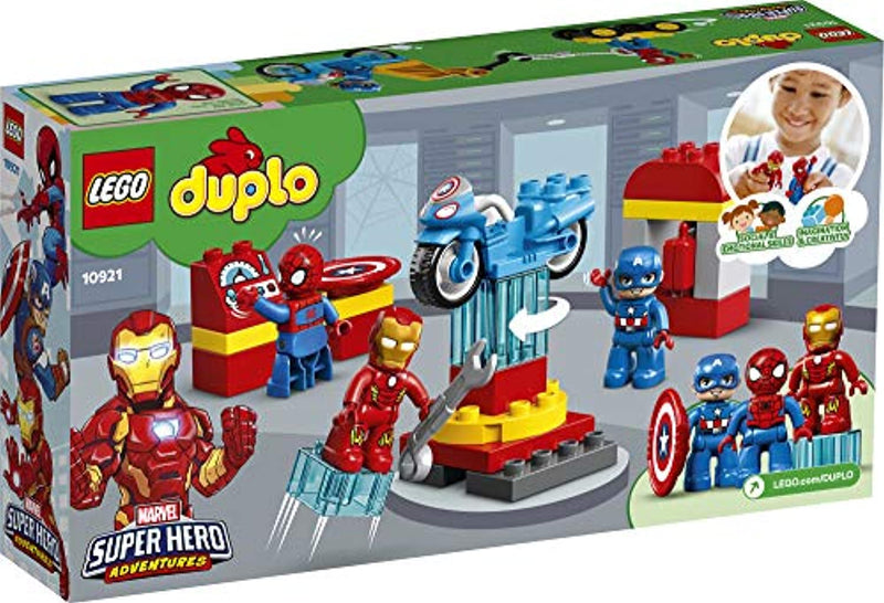 LEGO DUPLO Super Heroes Lab Marvel Avengers Superheroes Construction Toy