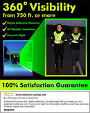 No.1 Reflective Vest Running Gear | YOUR BEST CHOICE TO STAY VISIBLE