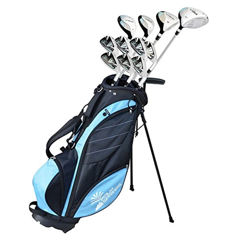 Palm Springs Golf Visa V2 Ladies Right Hand Graphite/Steel Golf Club Set -1 inch
