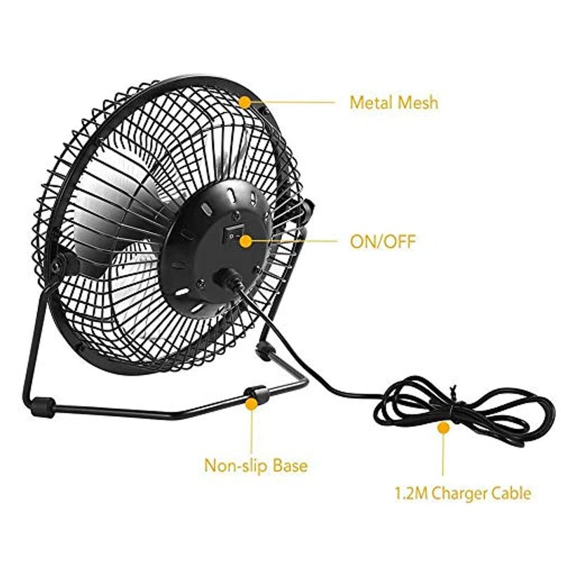 TwinPa Auto Cool Solar Powered Fan System with Solar Panel Electric-Free Easy for Outdoor Household