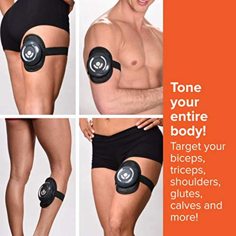 High Street TV Gym Form Total Abs Core Toning Belt and Strengthening EMS System Toned Stomach Muscles