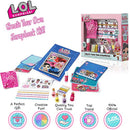 L.O.L. Surprise ! Scrap Book Art Sets For Children with Popular Glitterati LOL Dolls Theme and Amazing Accessories | Fun Craft Kits for Kids | Gifts For Girls with Stickers and Surprise