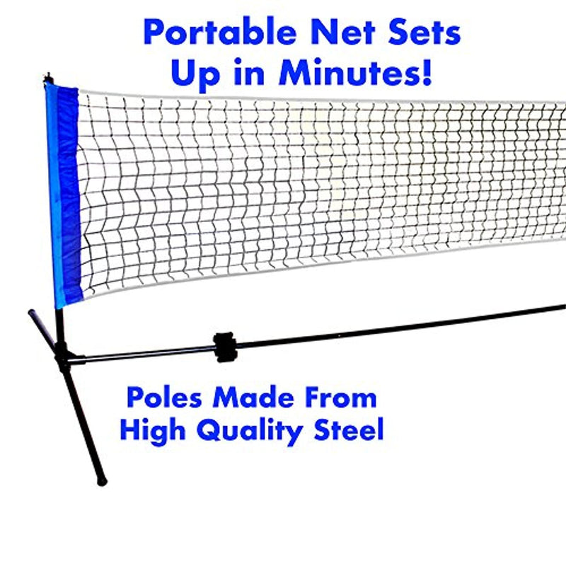 Driveway Games Portable Outdoor Pickleball Set