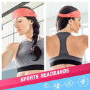 Vetoo Sports Headband, 3 Pack Sports Sweatbands for Men Women Unisex