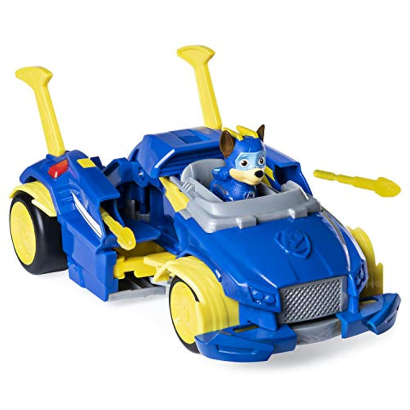 Paw Patrol 6052653 Marshall Mighty Pups Super PAWs Powered Up Transforming Vehicles, Assorted