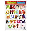 "Premier Stationery C3219295 ""Animals-Learn the Alphabet"" Clever Kids Wall Chart"