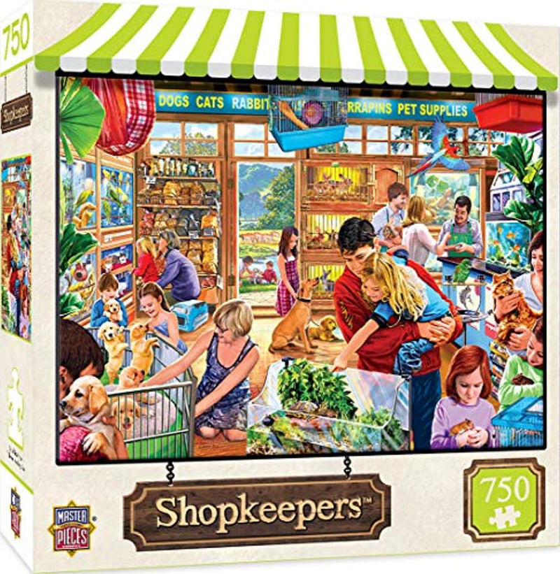 MasterPieces Shopkeepers Jigsaw Puzzle, Lucy's First Pet