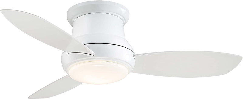 "Minka Aire F519L-PN Concept II LED 52"" Ceiling Fan in Polished Nickel"