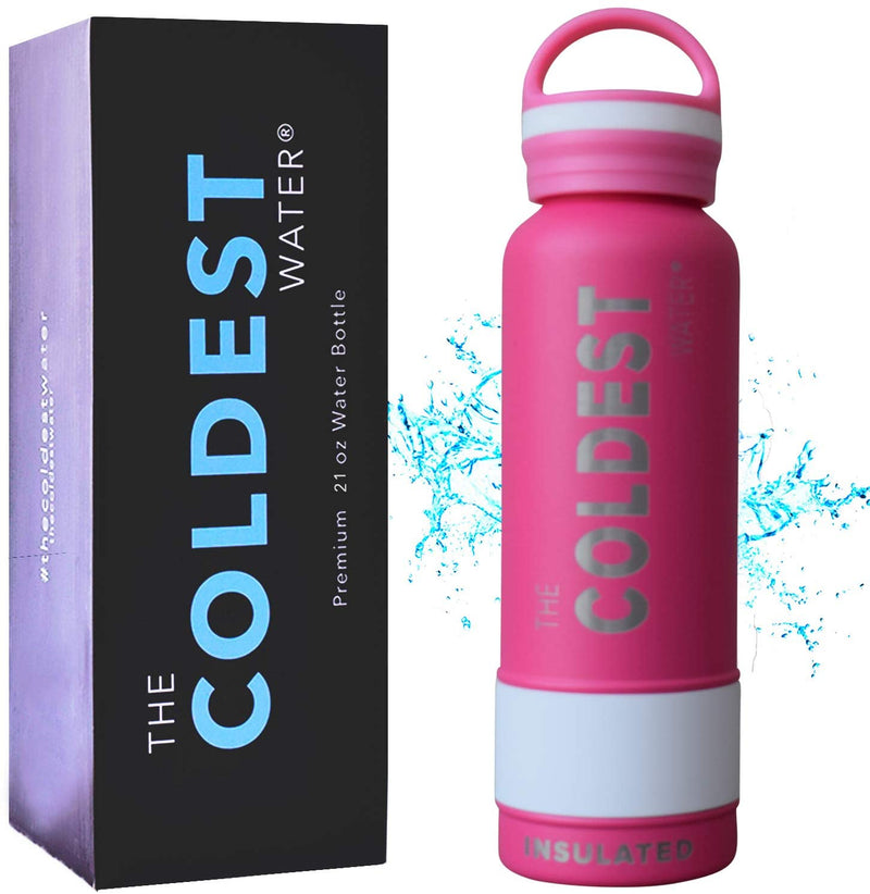 Coldest Water Bottle Vacuum Insulated Stainless Steel Hydro Travel Mug