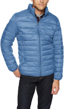 Men's Lightweight Water-Resistant Packable Puffer Jacket