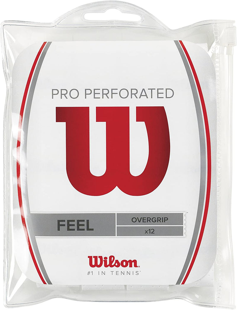 Wilson Unisex- Adult's Pro Perforated Tennis Racket Overgrip Pro Perforated