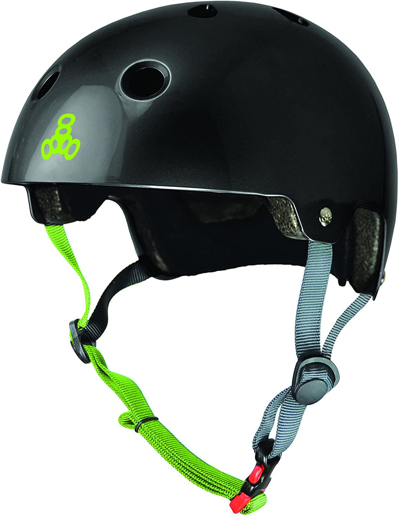 Triple Eight Dual Certified Bike and Skateboard Helmet