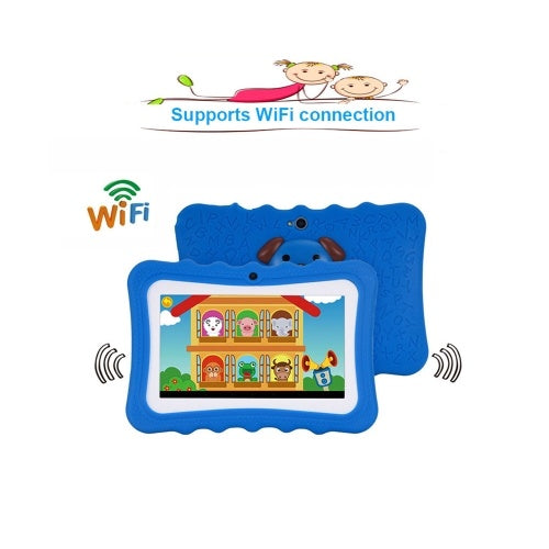 Educational Learning Computer WiFi Connection with Silicone Case Green EU Plug