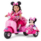 Disney Minnie Mouse Happy Helpers Scooter with Sidecar Ride-On Toy by Kid Trax