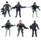 Elcoho 6 Pack Soldier Action Figure Toys Military Figures Playsets Swat Team Figure