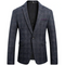 Men's Classic Plaid Sport Coats For Casual Wear