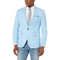 Azaro Uomo Men's Blazer Slim Dress Casual Linen Suit