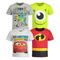 Disney Pixar Boys' 4 Pack Toy Story T-Shirts