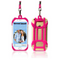 2 in 1 Pink Lanyard & Card Holder Cell Phone Tether Neck Strap Smartphone Case
