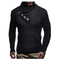 Leif Nelson Winter Sweatshirt With Shawl Collar For Men