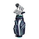 MacGregor Golf Ladies DCT2000 Premium Graphite Irons Graphite Woods Golf Club & Cart Bag Package Set