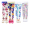 XM-Amigo 4 Pack Kids Girls Pants Floral Pattern Stretch Leggings(2-13Years)