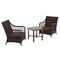 Better Homes and Gardens Hartwell Bay  3 Piece Wicker Chat Set